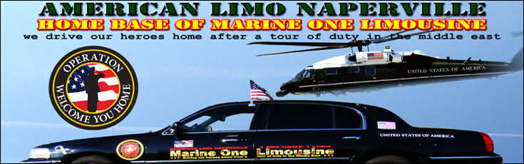 American Limo Naperville Home Base Of Marine One Limousine